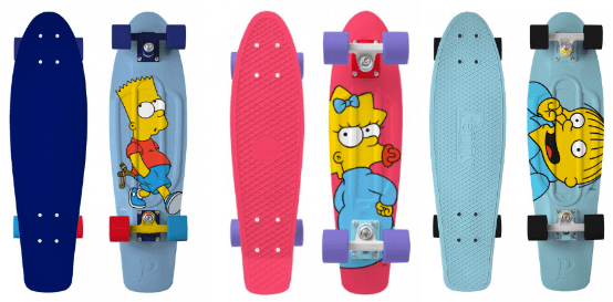 Penny Skateboards x The Simpsons
